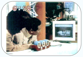 めざましテレビで紹介されました(1996年10月放送)